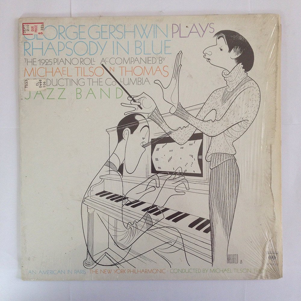 George Gershwin: Rhapsody In Blue (The 1925 Piano Roll) by Columbia