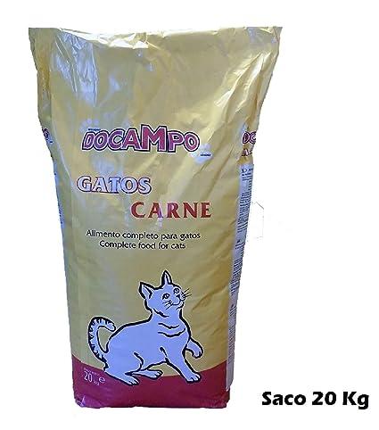 DOCAMPO Saco de pienso 20 Kg Comida para Gatos Sabor Carne