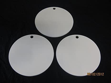 Steel Shooting Targets 8 Inch Round Hangers - NRA Action Pistol Plates - 3 pcs & Amazon.com : Steel Shooting Targets 8 Inch Round Hangers - NRA ...