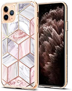 CYRILL étoile Designed for Apple iPhone 11 Pro Case (2019) - Pink Marble