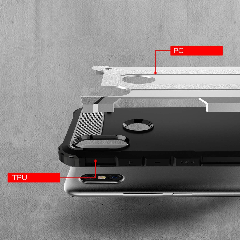 Anti-Scratch Oro Rosa Moda Armadura H/íbrida Carcasa Shock Absorci/ón Proteccion Funda Case para Xiaomi Redmi S2 Smartphone AOBOK Funda Xiaomi Redmi S2