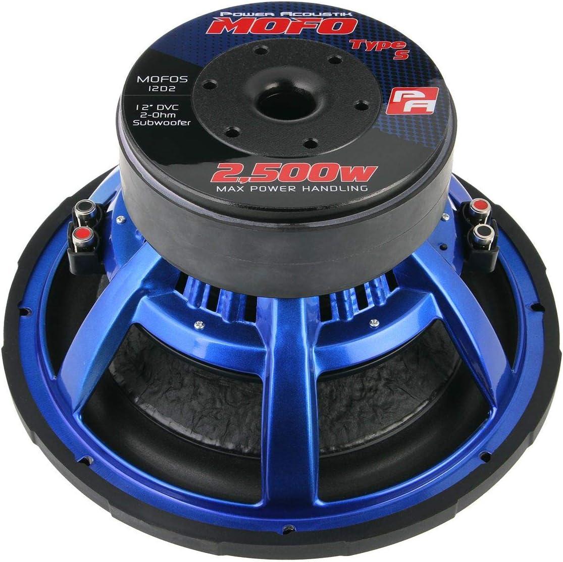 Power Acoustik MOFOS-10D2 10 Dual 2 Ω 1100W RMS Subwoofer Power Acoustik MOFOS-10D2 10 Dual 2 /Ω 1100W RMS Subwoofer