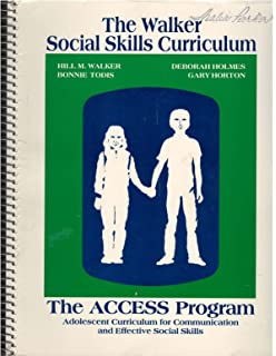 Social skill intervention guide practical strategies for social the access program adolescent curriculum for communication and effective social skills the walker social fandeluxe Gallery