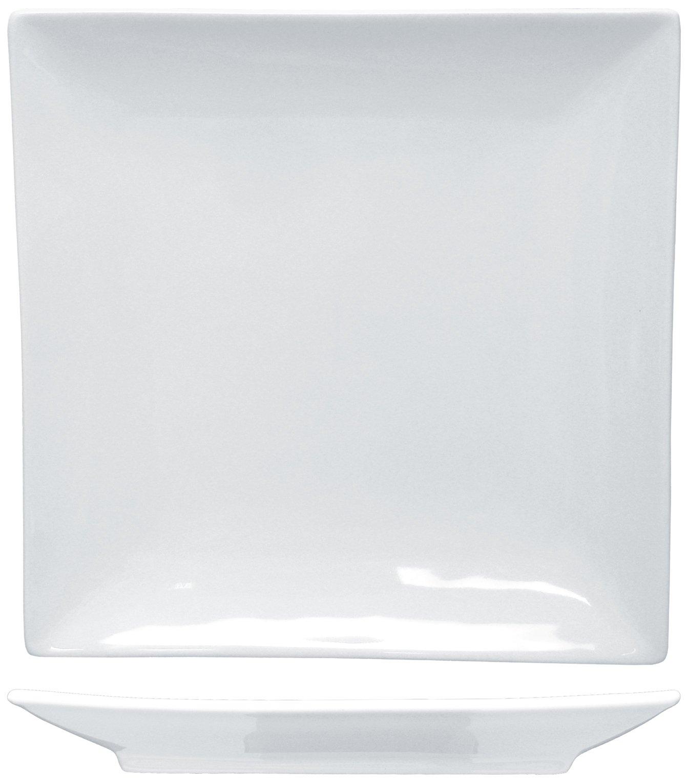 ITI-PA-6 Paragon 5-3/4-Inch Square Plate, 48-Piece, White