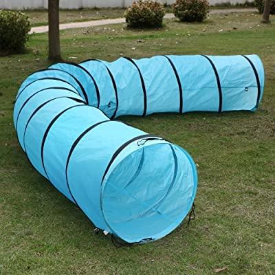 World Pride Dog Agility Training Tunnel in Different Size Blue