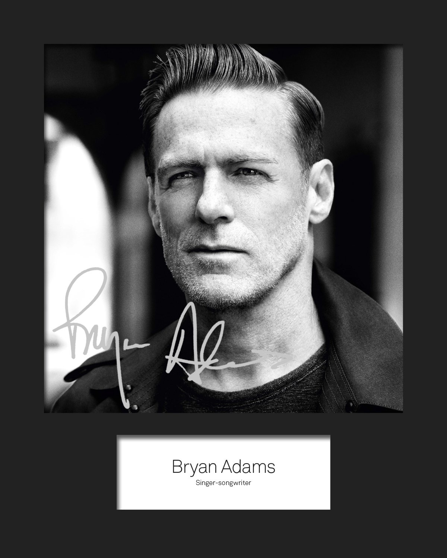 Bryan Adams # 1signiert Foto 10x 8drucken FRAME SMART