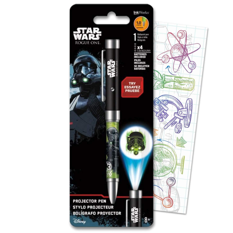 Amazon.com : Disney Star Wars Ballpoint Projector Pen Bundle ...
