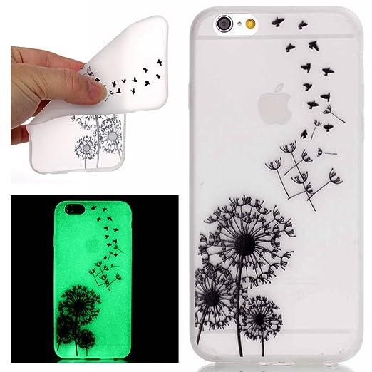 15 opinioni per iPhone 6 Custodia, iPhone 6S Case Cover, ISAKEN Agganciabile Luminosa Case Cover