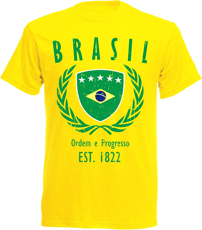 aprom - Camiseta de Brasil para el mundial de Brasil NC ...