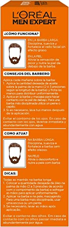L'Oréal Paris Men Expert Barber Club - Aceite Hidratante para Barba Larga y Rostro, 30 ml