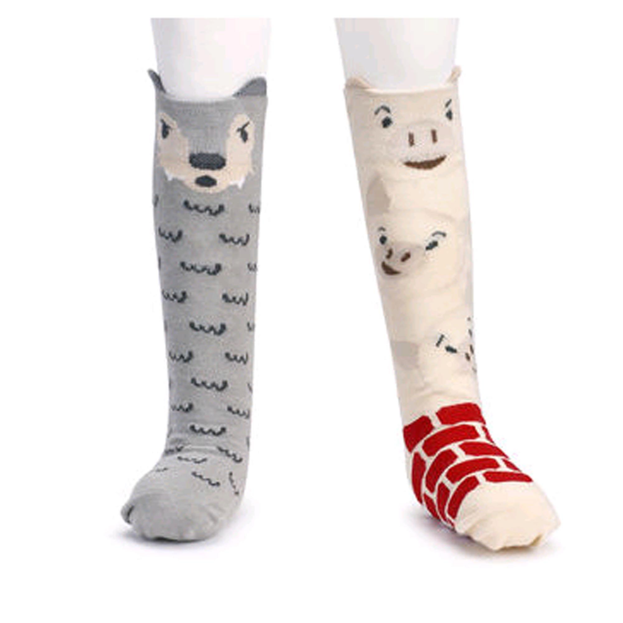 Amazon DEMDACO Knee Story Time Socks Goldilocks Three Bears