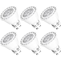 6-Pks. LuminWiz MR16 GU10 7W LED Bulbs