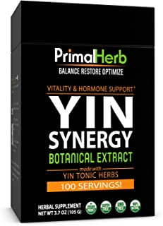 product image for Primal Herb Estrogen Hormone Balance, Menopause, PMS, Fertility Support, 100 Servings, Includes Bamboo Spoon