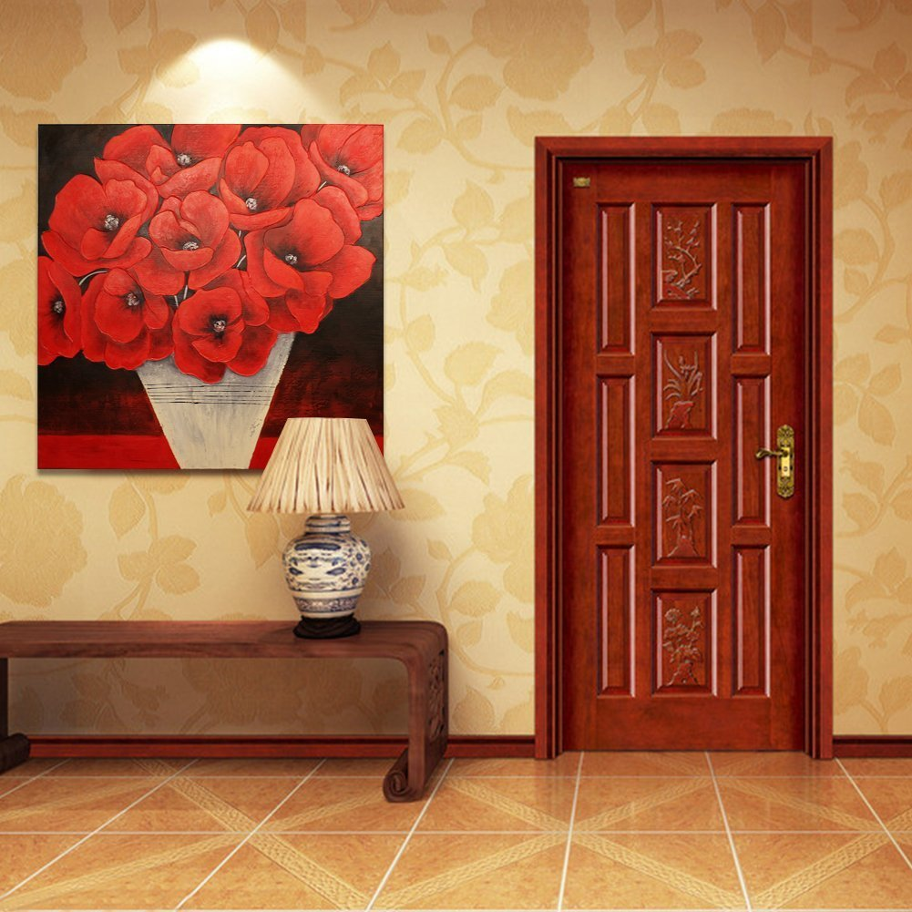 Lovely Red Poppy Wall Art Ideas - The Wall Art Decorations ...