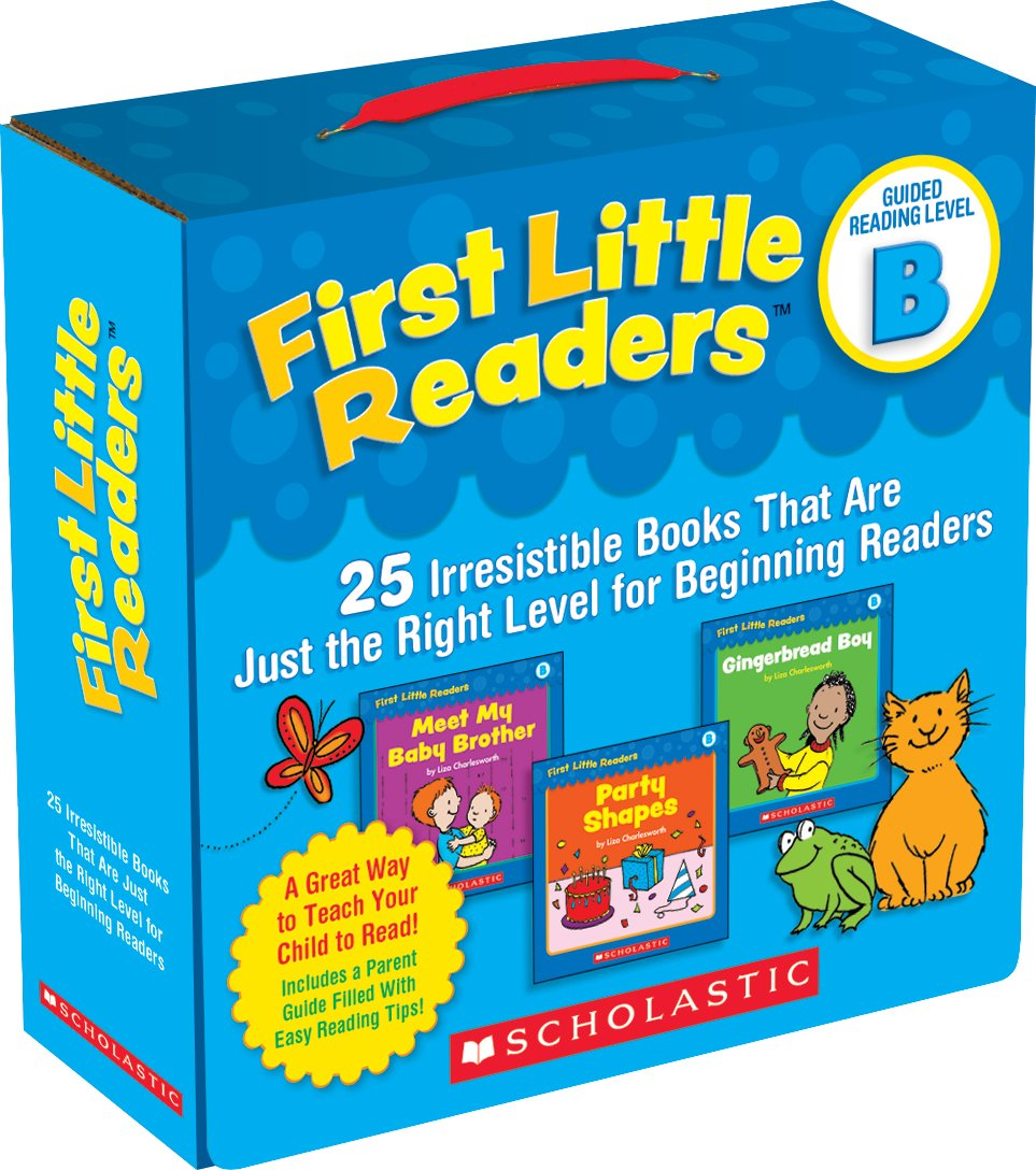 Read Online First Little Readers Parent Pack: Guided Reading Level B: 25 Irresistible Books That Are Just the Right Level for Beginning Readers pdf epub