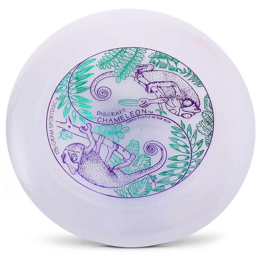 Discraft Ultra-Star 175g Ultimate Disc + Free Mini Frisbee + Ultimate Disc Sticker (USA Ultimate Approved) - UV by Disc Store