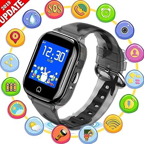 AARRM SmartWatch teléfono niños Reloj GPS - Reloj con cámara ...