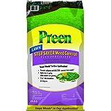 Preen Lawn Step Saver Weed Control Plus Lawn Fertilizer - 18 lb. bag Covers 5000 sq. ft.
