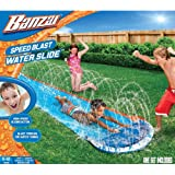 "Banzai New and Improved Speed Blast Water Slide - 192"" Long"