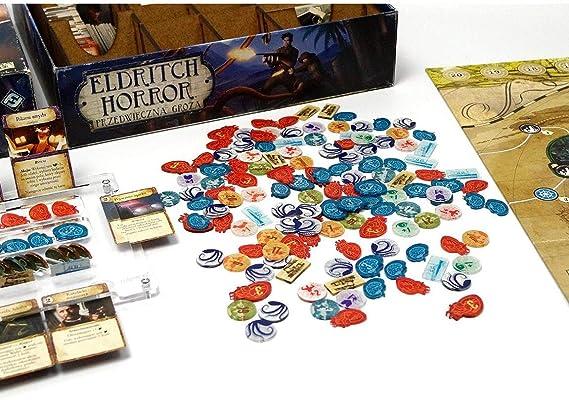 E-Raptor era19048 Modo y marcadores Eldritch Horror Juego Completo de fichas Junta Juego: Amazon.es: Juguetes y juegos