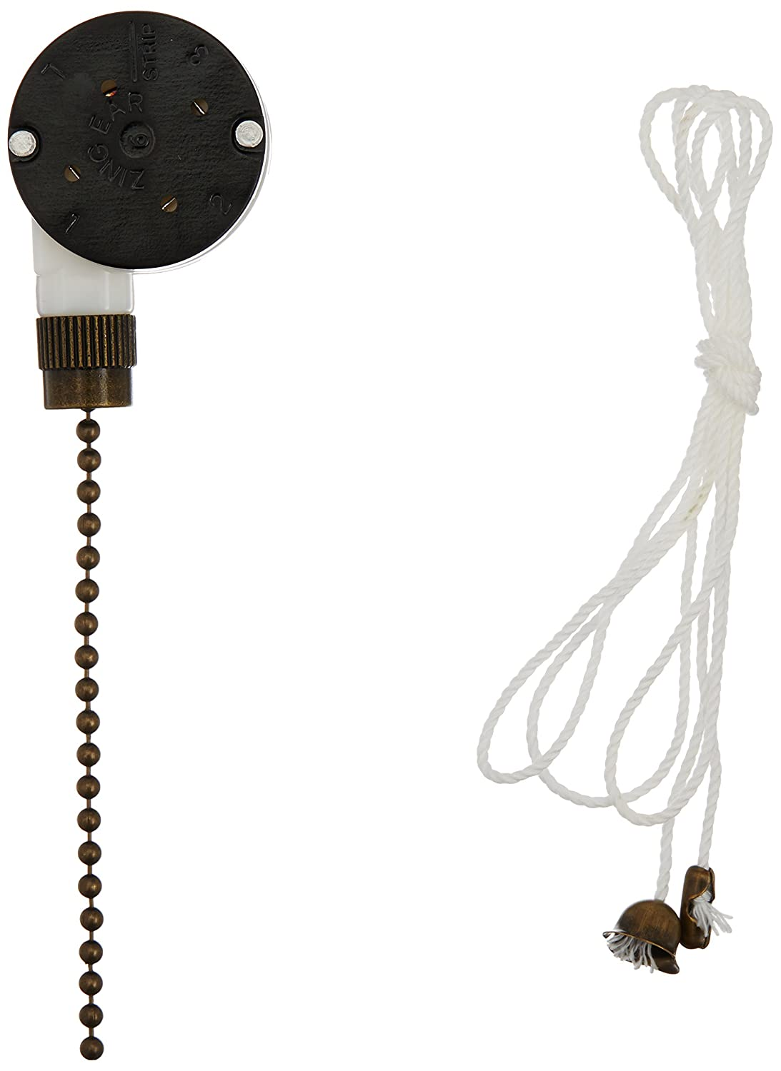 Westinghouse 3 Speed Fan Switch With Antique Brass Pull Chain Replacement 3speed The Images Frompo