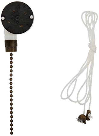 712yRXoBN L._SY450_ westinghouse 3 speed fan switch with antique brass pull chain  at n-0.co