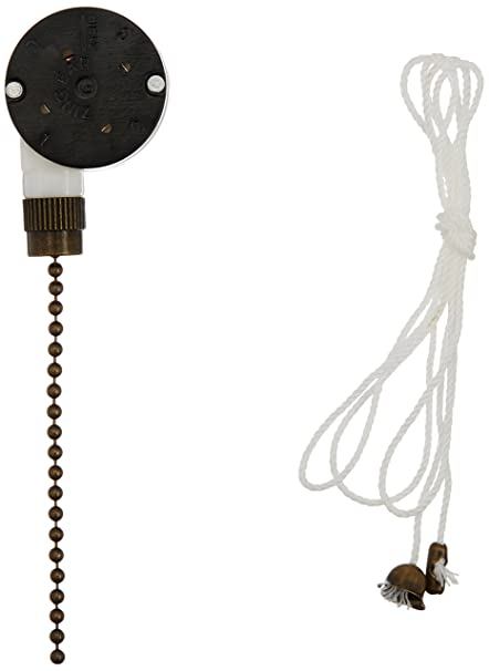 westinghouse 3 speed fan switch with antique brass pull chain rh amazon com PWM Fan Diagram PWM Fan Diagram