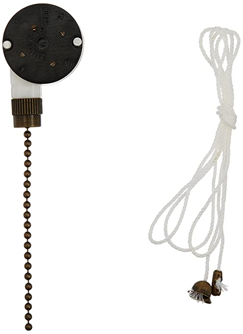 712yRXoBN L._SY679_ westinghouse 3 speed fan switch with antique brass pull chain zing ear ze 208s wiring diagram at cos-gaming.co