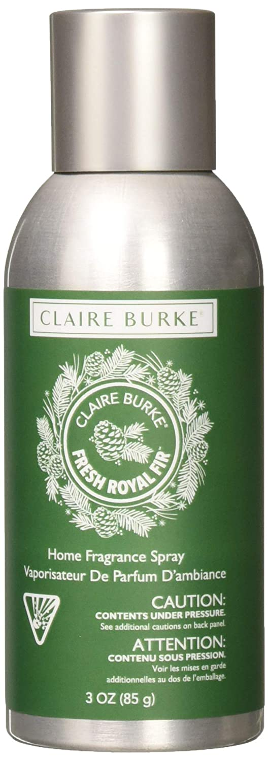 Claire Burke Fresh Royal Fir Spray Kitchen Décor Fragrance/Home Scent, Small, Green