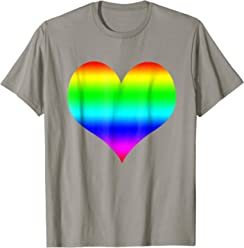 Pride LGBT love heart shirt