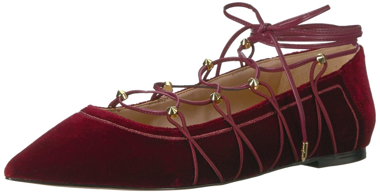 Sam Edelman Women's Rockwell Ballet Flat B01NCKZMRO 10.5 B(M) US|Cranberry Velvet