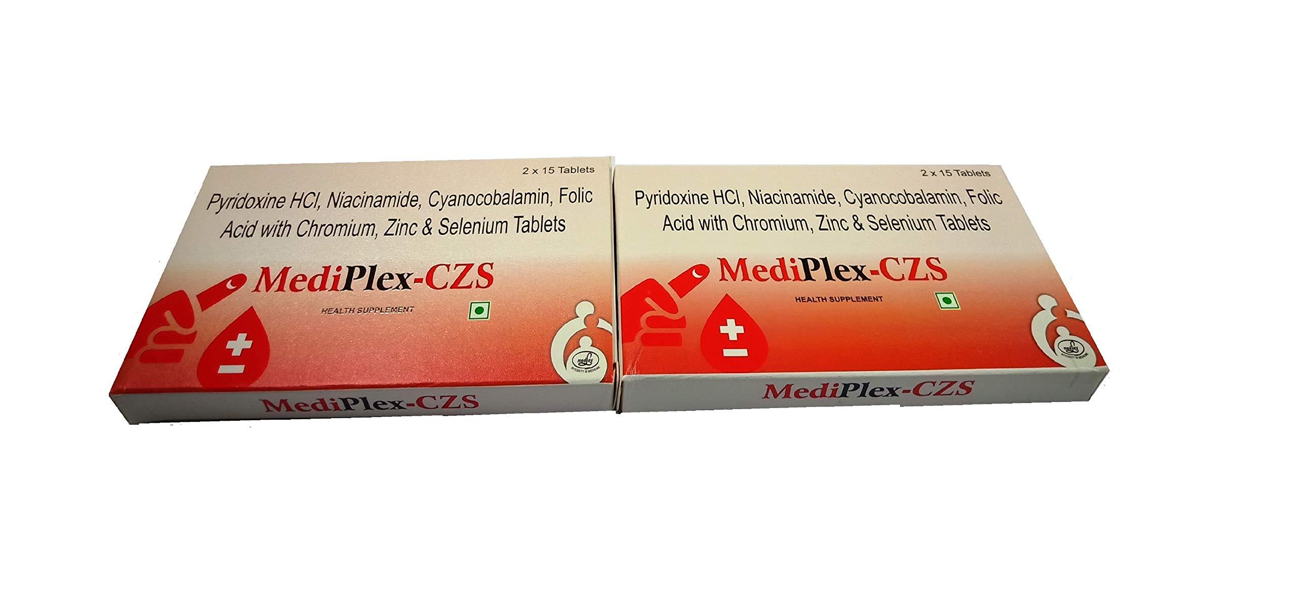 Medley Mediplex CZS Tablet - Pack of 60 Tablets