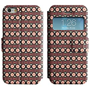LEOCASE flor linda Funda Carcasa Cuero Tapa Case Para Apple iPhone 5 / 5S No.1005140