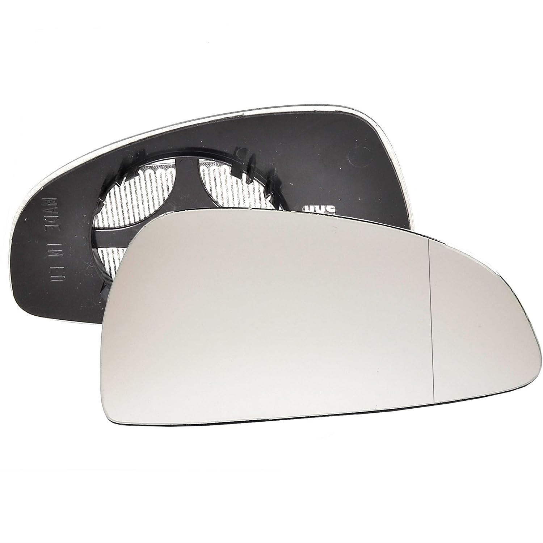 Driver laterale destra anta vetro specchio grandangolare riscaldato con piastra di