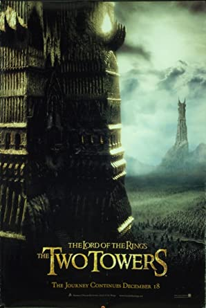 Lotr The Two Towers 2002 Original Movie Poster At Amazon S Entertainment Collectibles Store