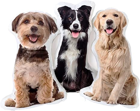 Amazon Com Ymgifts Picture Pillow Custom Pet Pillow Dog Pillows Gift Kitchen Dining