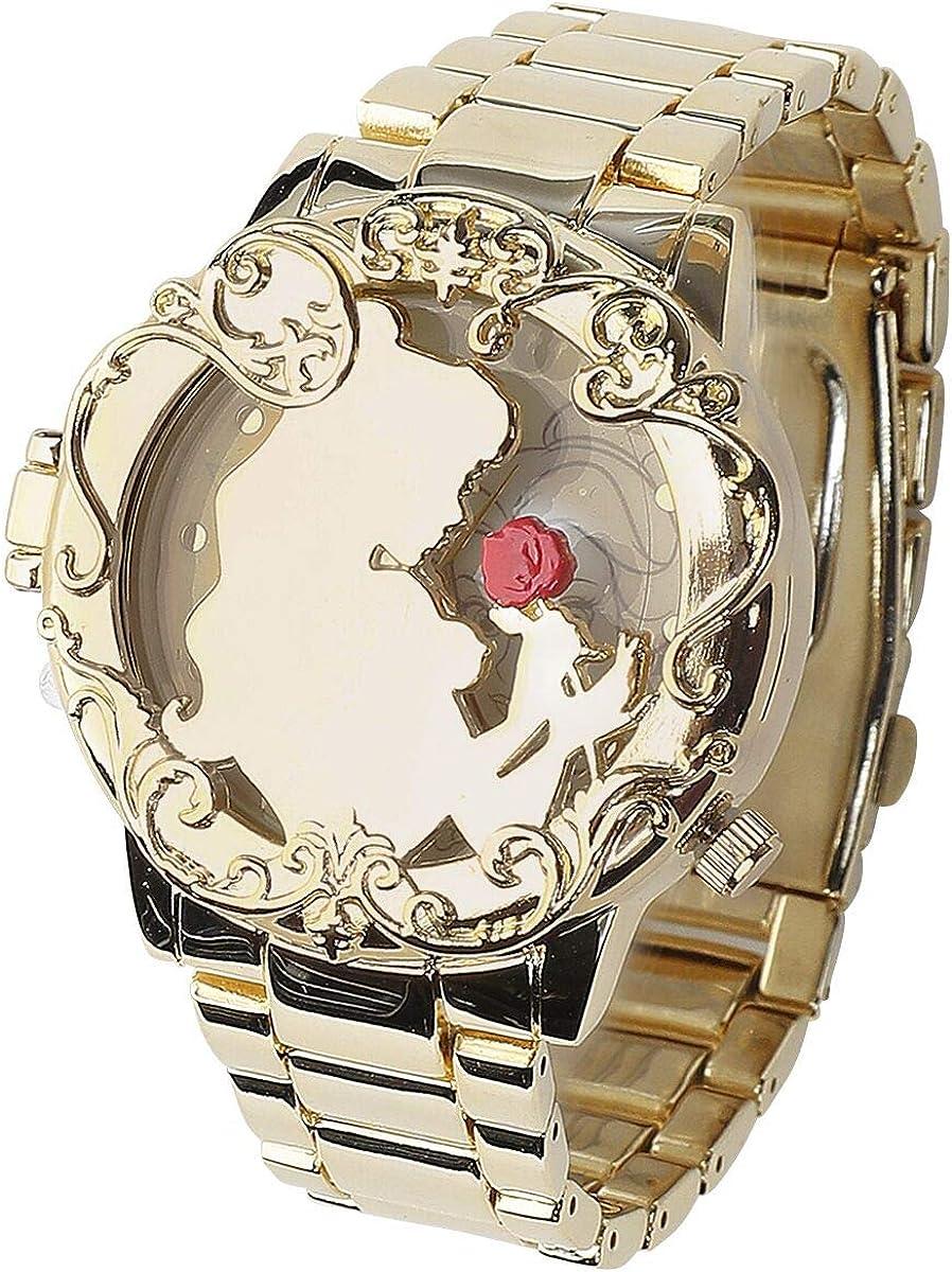 Die Schöne und das Biest La Bella y La Bestia Golden Belle Mujer Relojes Dorado, Ver descripción,