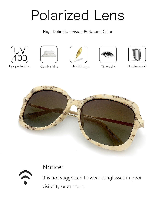 DADA-PRO Damen Sonnenbrille, gelb