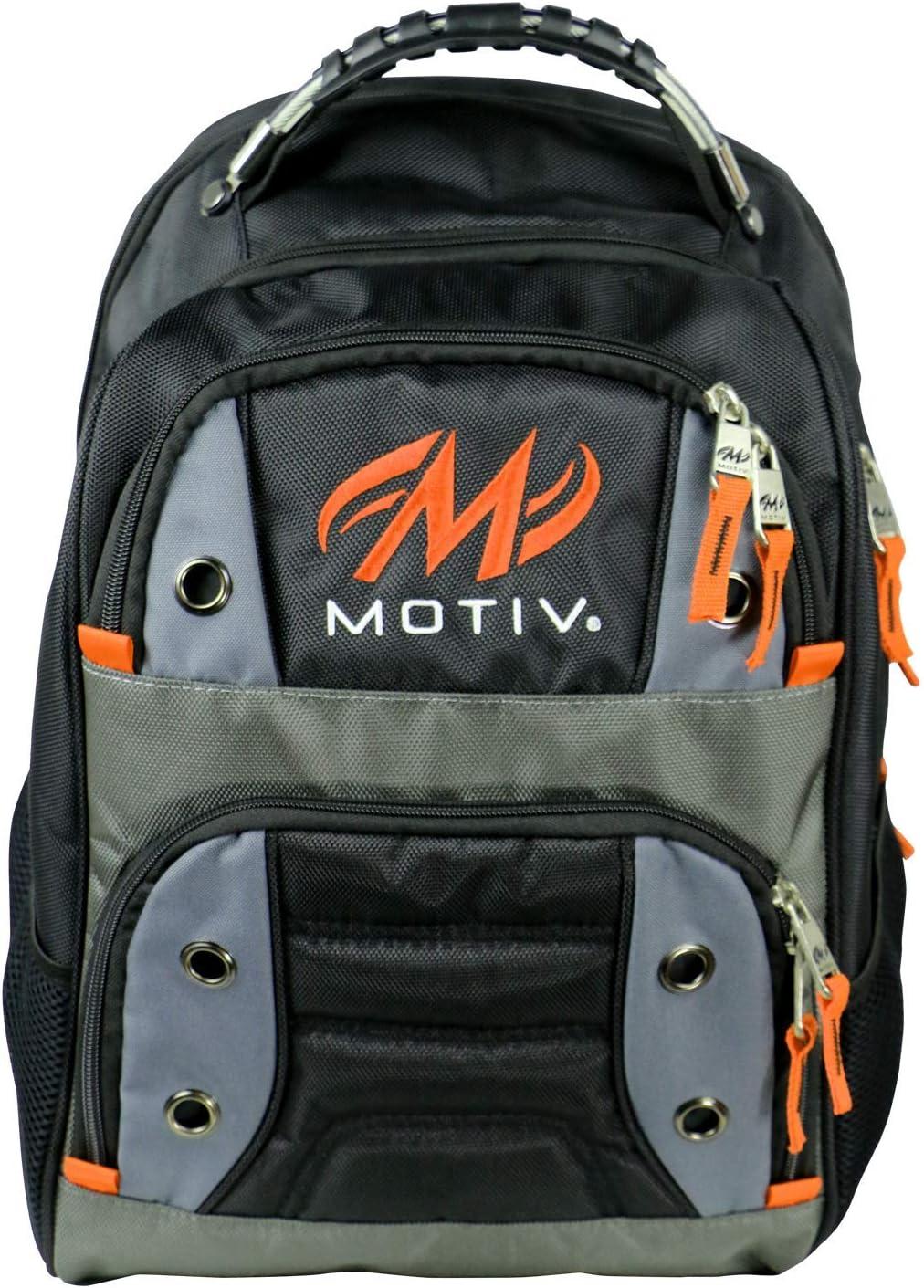 Motiv Intrepid Backpack Black//Orange