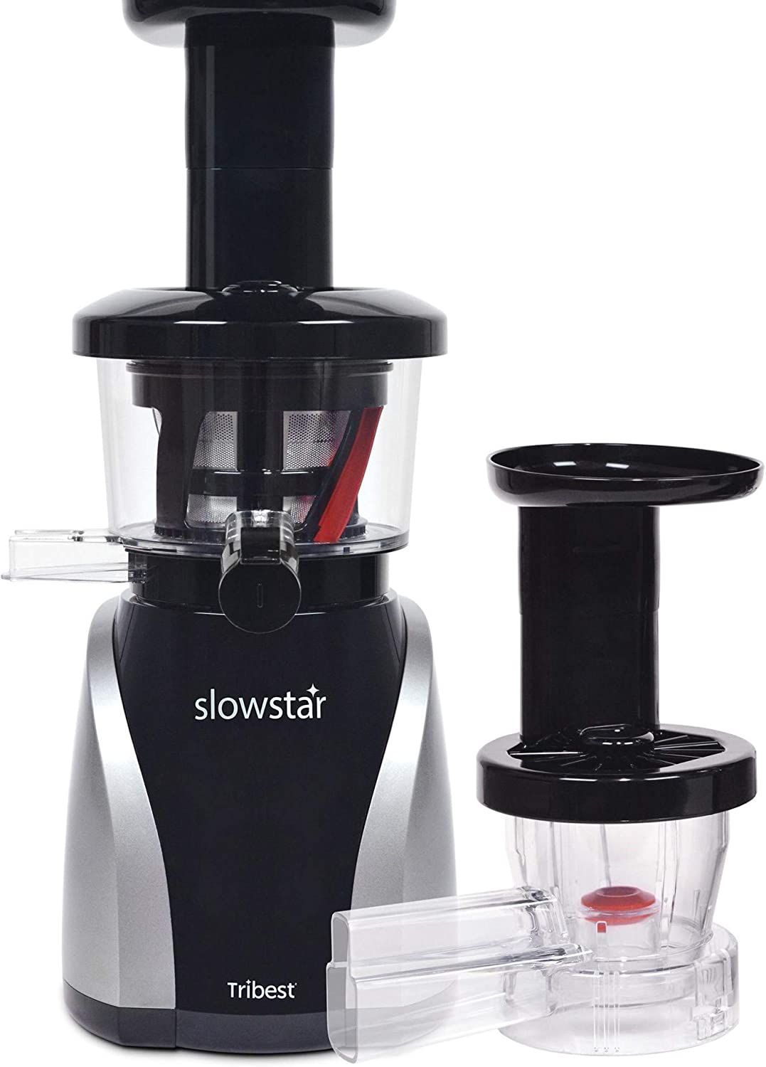 Tribest SW-2020 Slowstar, Vertical Slow Juicer and Mincer, Cold Press Masticating Juice Extractor