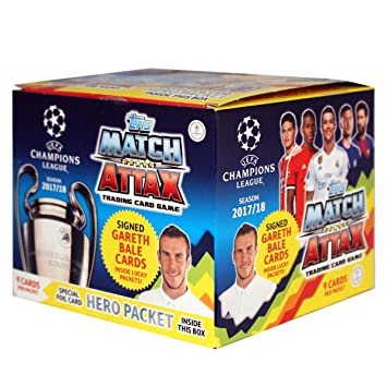 Match Attax Weihnachtskalender.Ucl Match Attax 2017 18 Uefa Champions League Trading Card Game 50
