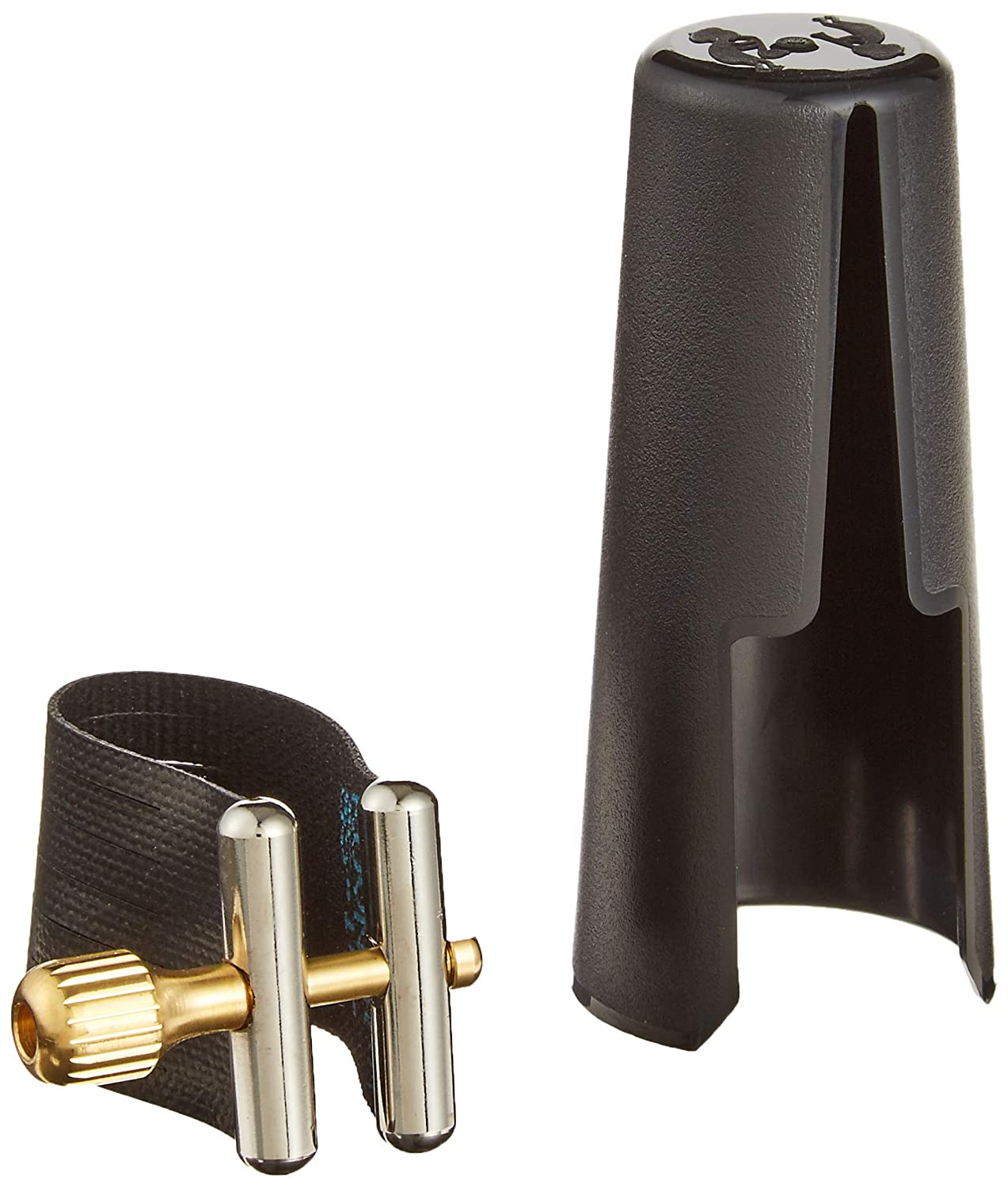 Rovner SS3R Star Series Ligature for Hard Rubber Baritone Sax, Gold Fittings