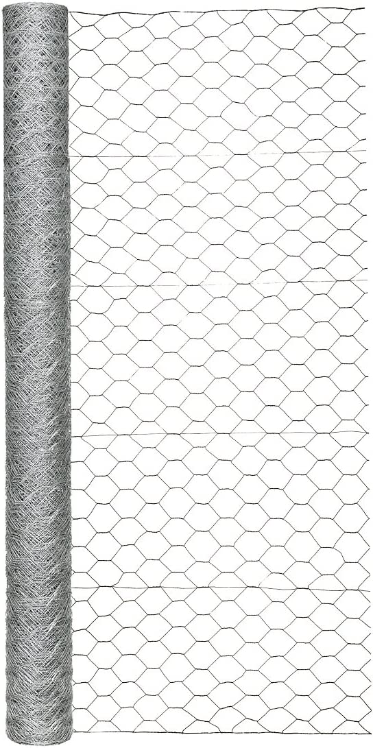 Origin Point 60in x 150ft 2in Poultry Netting Garden Zone 60 Inches, 60 x 150 , Silver