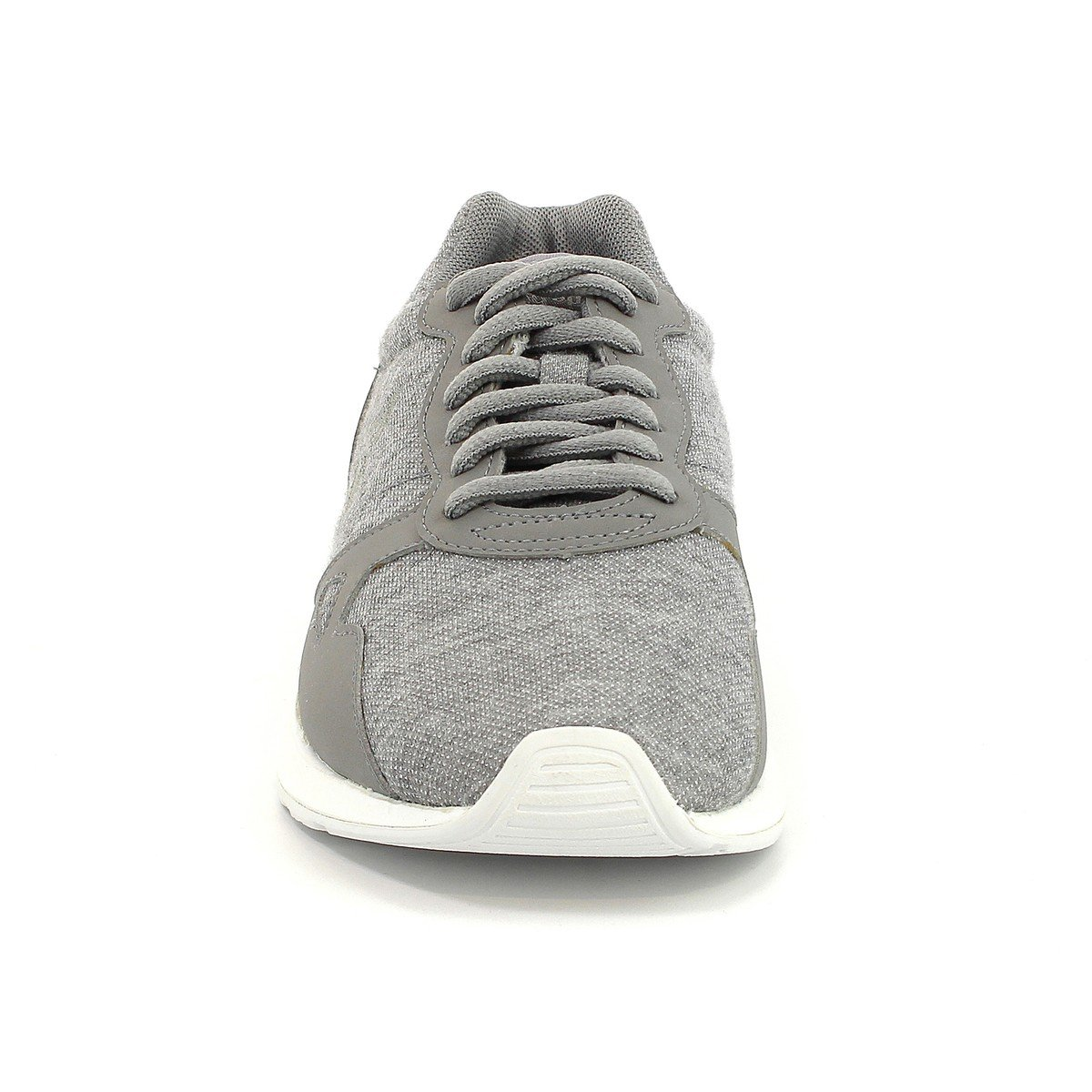 LE COQ SPORTIF Womens LCS R600 Summer Glitter Trainers Grey Size 41