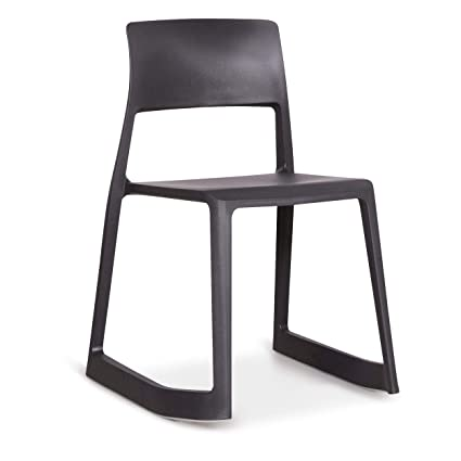 Ton Designer Kunststoff Tip Edward By Polypropylen Stuhl Grau Vitra H9EIeWY2D
