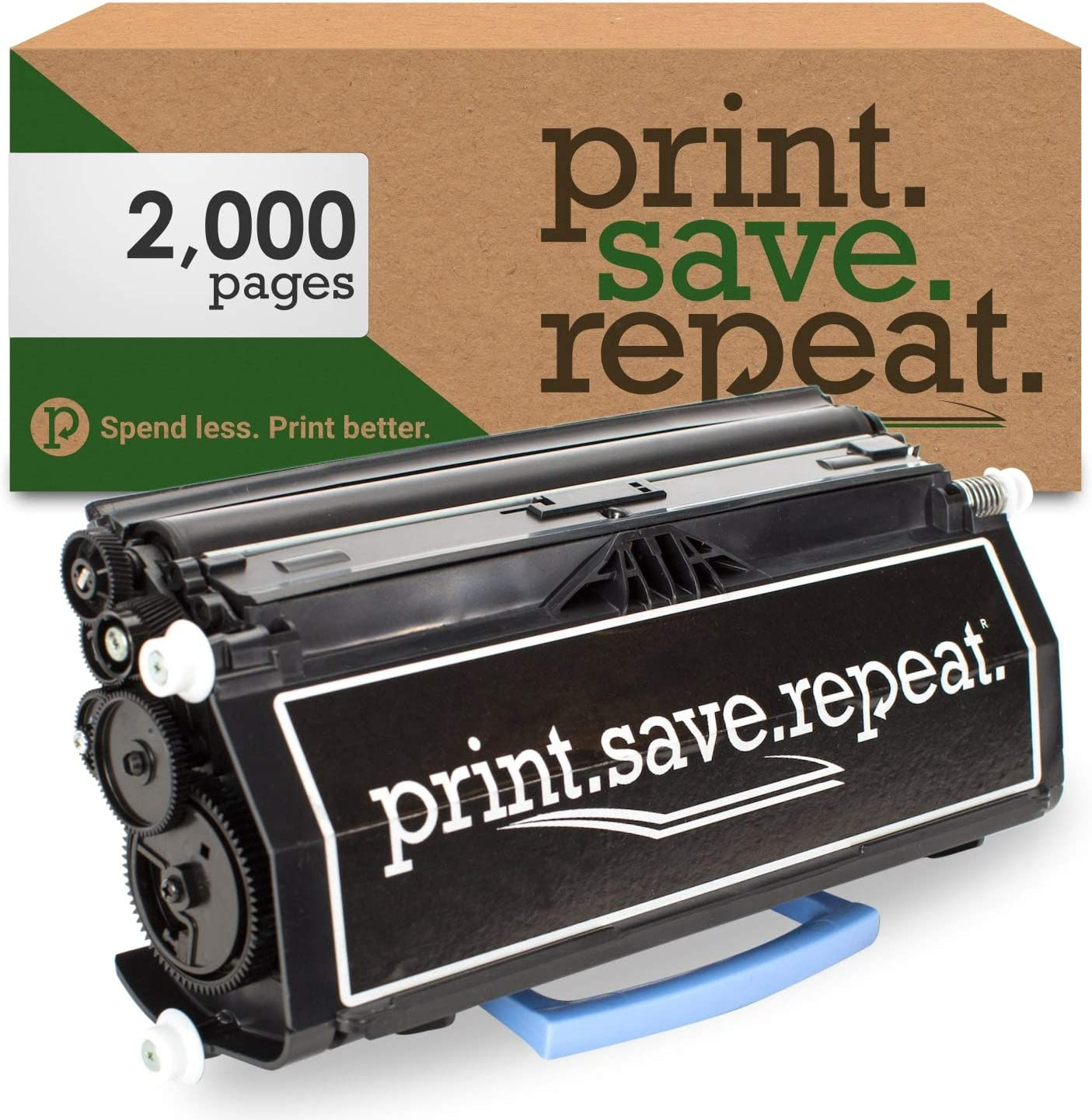 Print.Save.Repeat. Dell PK492 Remanufactured Toner Cartridge for 2330, 2350 [2,000 Pages]