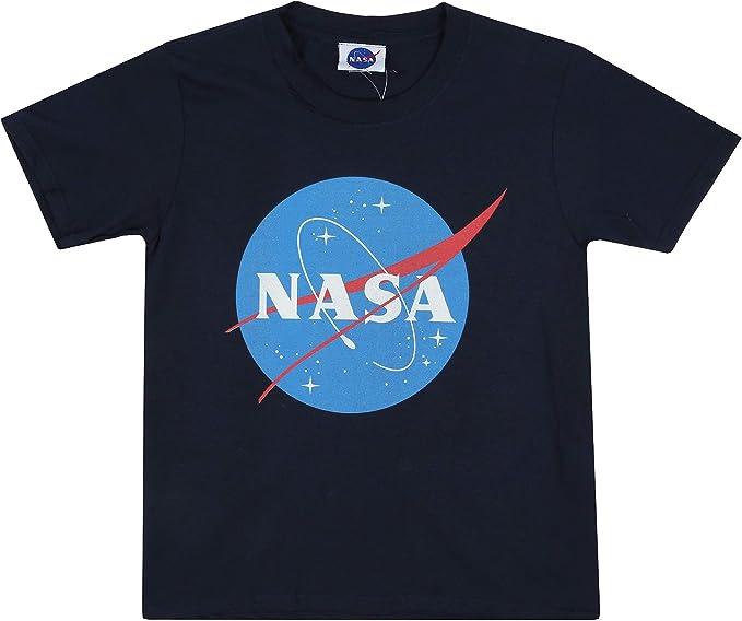 Nasa Original Logo Camiseta para Niños: Amazon.es: Ropa y accesorios