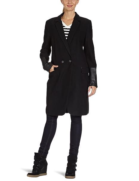 Part Two - Abrigo para mujer, talla 36, color Negro 050: Amazon.es: Ropa y accesorios