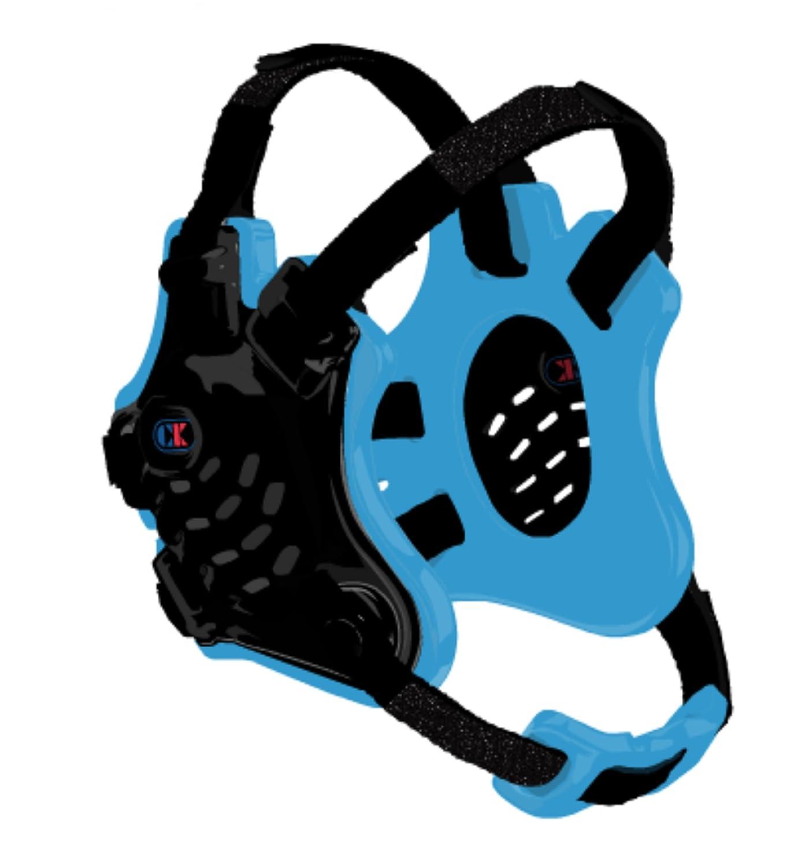 Cliff Keen F5 Tornado Headgear Black//Royal Blue//White