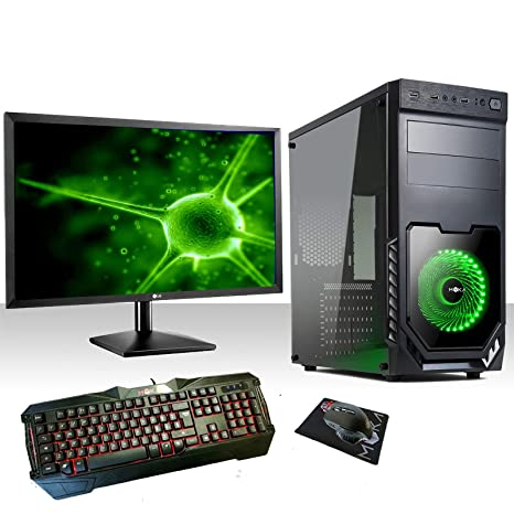 PC Desktop Gaming Intel Quad Core WIFI/HD 1TB SATA III/RAM 8 ...